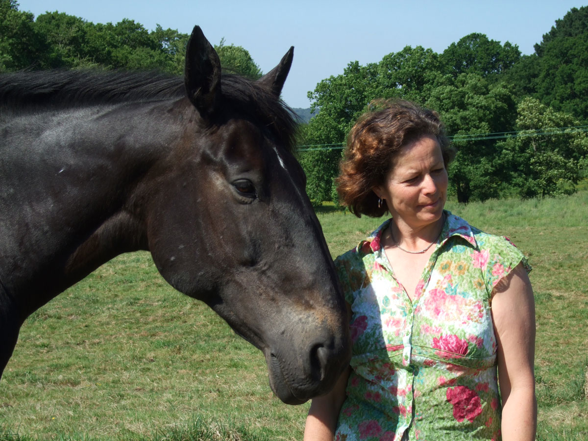 self reflection and overcoming fear with the horse's help